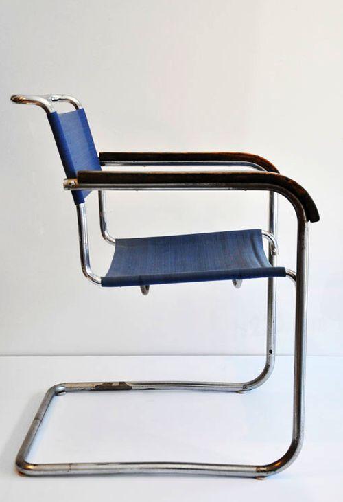 Germany B34 Cantilever Chair 1930's Designer Marcel