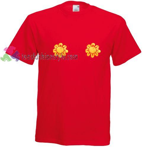Sun Flower t shirt gift tees unisex adult cool tee shirts