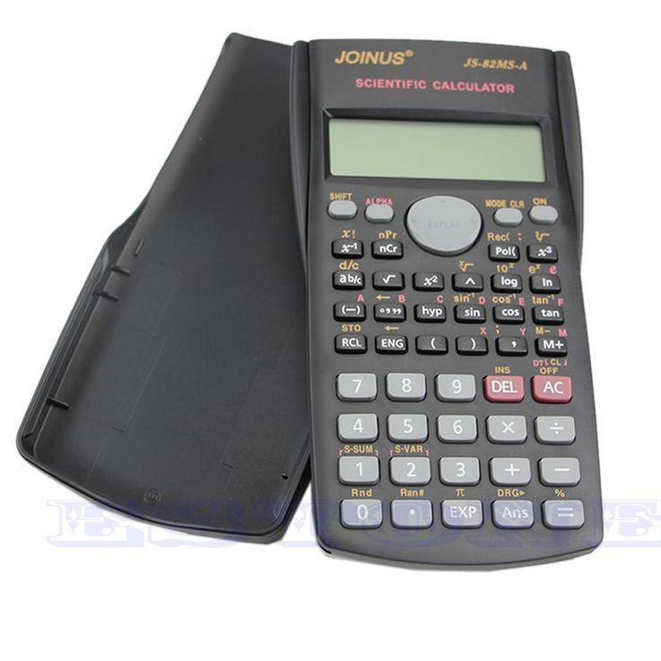 Nueva Portátil Multi-función de Calculadora Función 82MS-A 2-Line Display Digital LCD Calculadora Científica Al Por Mayor de Calidad SUPERIOR