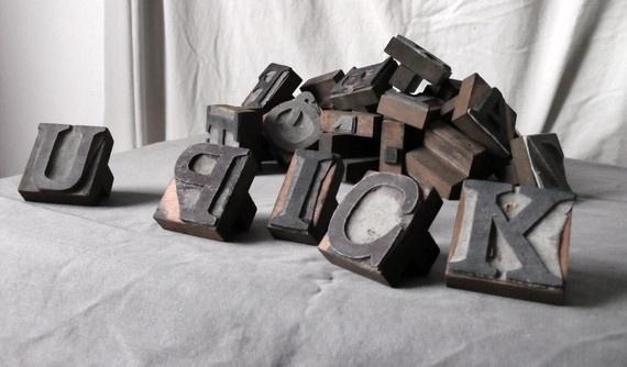 printer type blocks