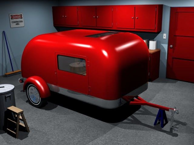 For a great many years I have been playing around with the idea of building a teardrop camping trailer.  My design for a teardrop has evo...