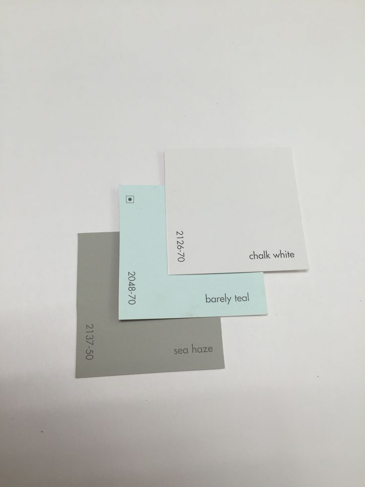 Chalk White 2136 70 Barely Teal 2048 70 Sea Haze 2137 50