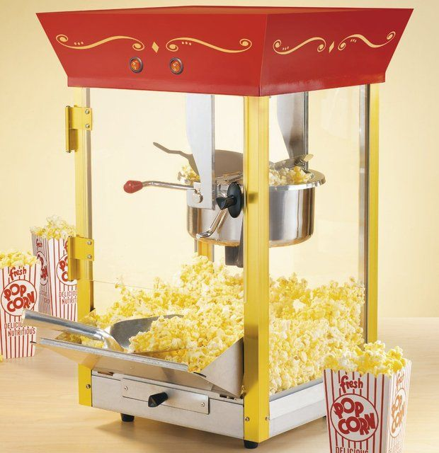 Fancy - Old Fashioned Movie Popcorn Machine