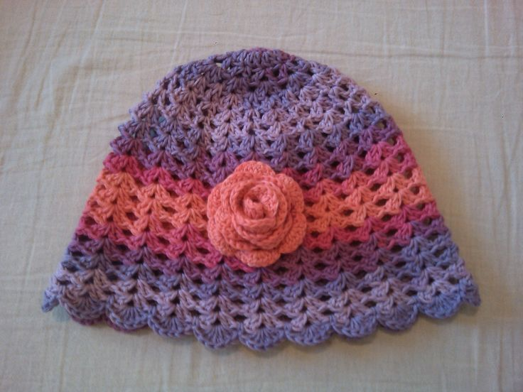 Nika sapka / Nika hat Sapka / hat: http://www.ravelry.com/patterns/library/crochet-hat-nika Rózsa / rose: https://www.youtube.com/watch?v=dHB6SdGUmf8