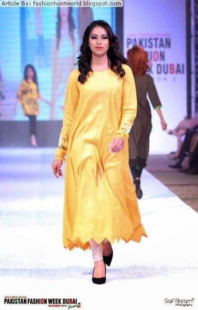 Ego Fall-Winter Dresses 2015 At Pakistan Fashion Week Dubai ...