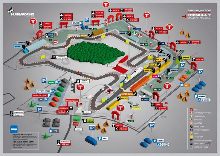 Výsledek obrázku pro hungaroring mapa okruhu