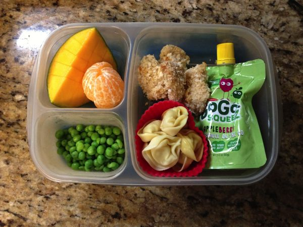 For more yummy lunch ideas, be sure to follow my Toddler Lunch Ideas Pinterest board. 1. Turkey & cheese sandwich, cheddar rice cakes and strawberries: This toddler lunch idea is equal parts healthy and yummy.A couple of snack suggestions to complement this meal are a banana muffin and carrots, celery and hummus.