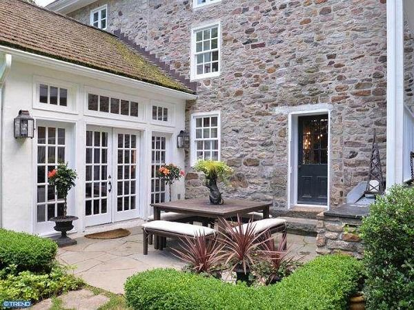 Longwood: An Old Stone House For Sale in Bucks County
