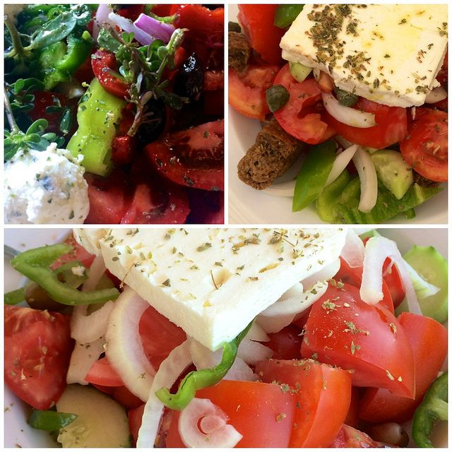 Greek deliciousness by Ania Mendrek, via Flickr