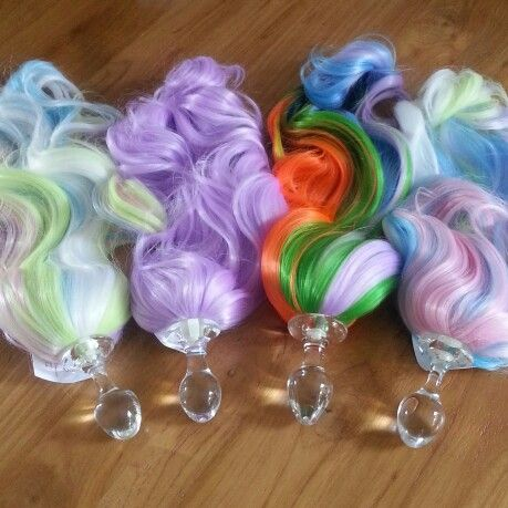 What A Delight Prancing Little Pony Plugs By Crystal