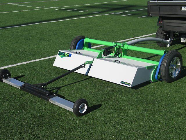LitterKat Turf Sweeper by Sports Turf Northwest.  The Industry leader for debris removal.  Call or Email US for a Quote Today