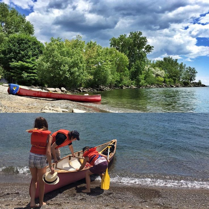 Active Day Trip Balmy Beach To Ashbridges Bay Toronto It Took Us About 2 Hours Paddle Back And Forth Our Secret In
