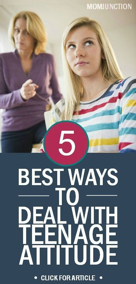 Teenage is a turbulent time and if you understand this and prepare to be patient and discreet, your job is half done. The following are a few ways which can help you in dealing with teenagers attitude problems.