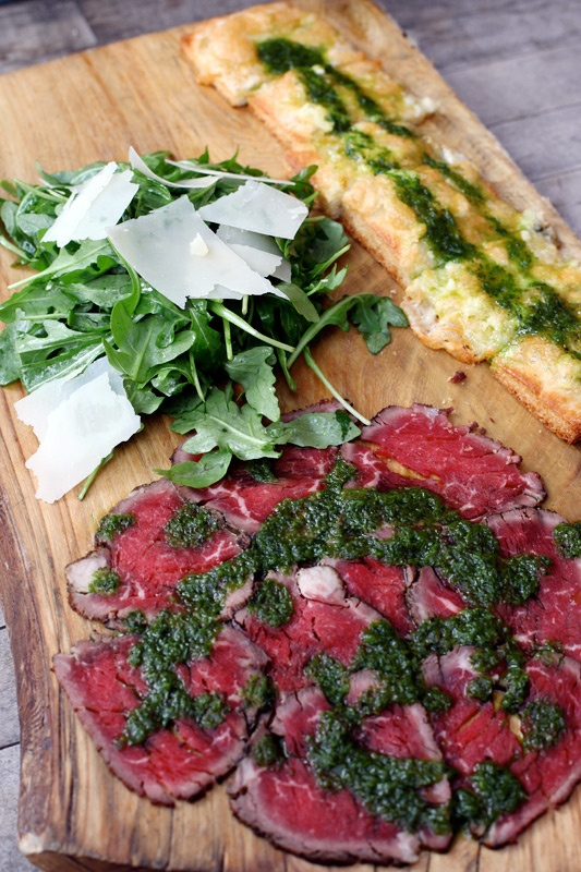 yum..one of my favorites!! beef carpaccio
