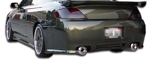 1999-2003 Toyota Solara Duraflex VIP Rear Bumper Cover - 1 Piece