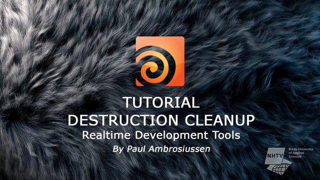 DOWNLOAD: https://www.orbolt.com/asset/Ambrosiussen::DestructionCleanup  MORE INFO: http://ambrosiussen.com/subpages/rbdsimcleanup.html    The Destruction Cleanup HDA is part of the realtime-development tools made by Paul Ambrosiussen, targeted at optimizing a destruction simulation before exporting it to third party applications like Unreal Engine, Unity, Maya or 3DsMax.  The tool offers a multifold of parameters to tweak in order to achieve the desired cleaned up result.  Parameters…