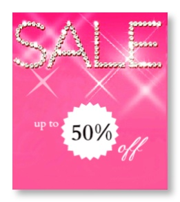 Up to 50% off on selected products!