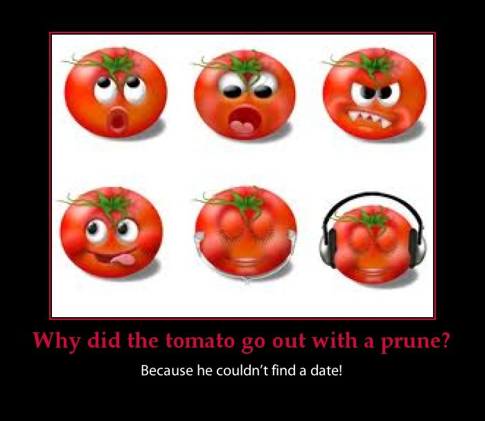 funny baby jokes pictures | Some more tomato jokes that are pretty funny no matter how you slice ...