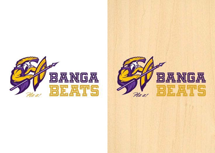 BANGA BEATS LOGO  This is a Badminton team Logo
