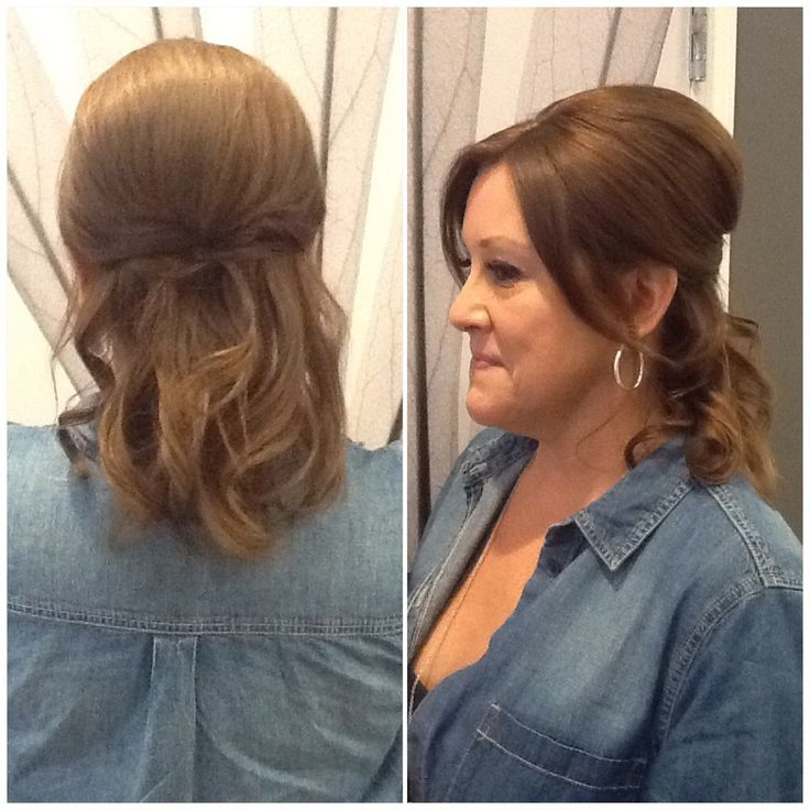 Hair by Kendra. Casual, wedding updo. To book an appointment with Kendra, call (780) 467-3288 or visit our website at www.sylviaco.com. Located in Sherwood Park, Alberta, Canada.