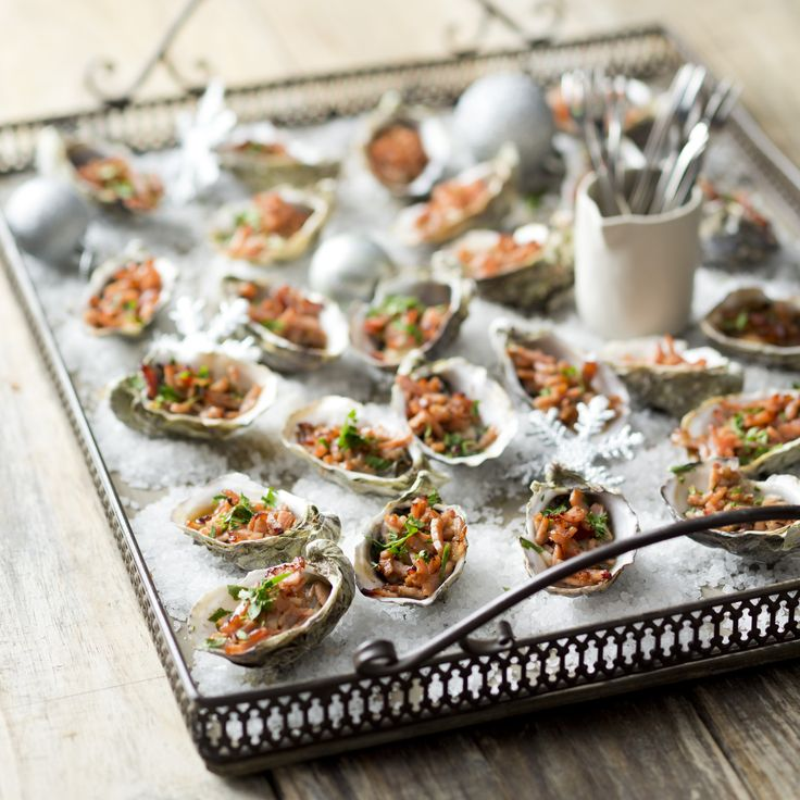 Oysters Kilpatrick | Thermomix Festive Flavour Cookbook and Recipe Chip | Christmas and Entertaining Recipes