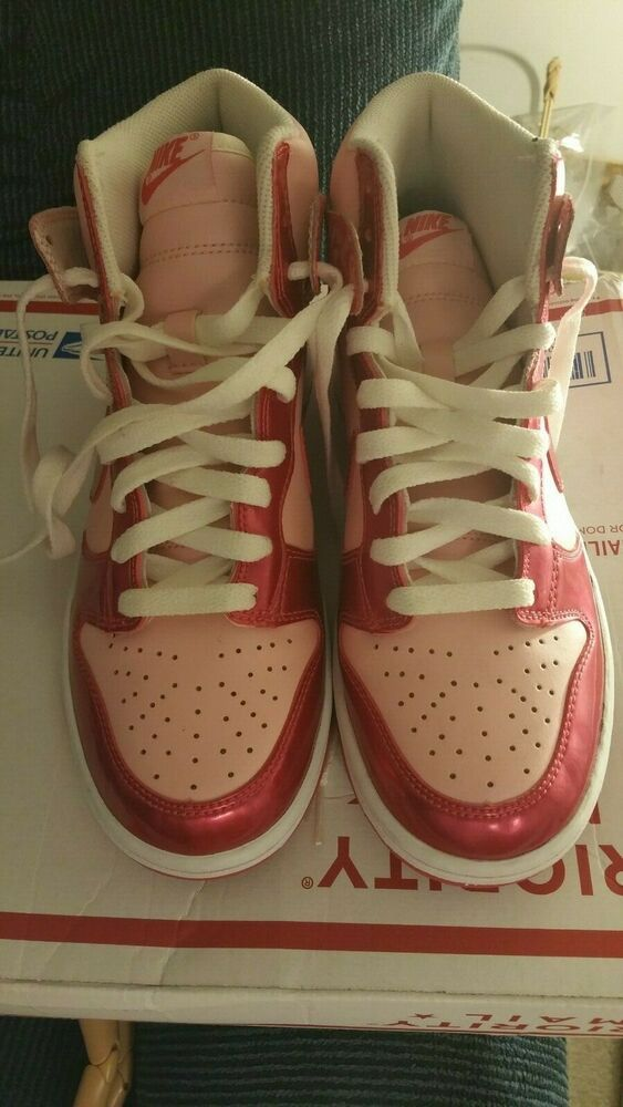 Nike dunk high glitter trainers in W10