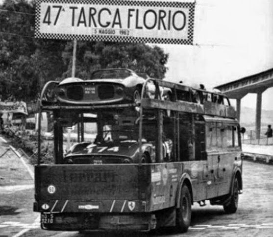 Transport Ferrari: 235 Best Images About Targa Florio On Pinterest