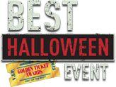 Halloween Horror Night  Select Nights  Sept. 19-Nov. 1.  best halloween event