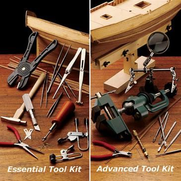 Ship Modeling Tools: Toolkit for Ship Modelers, Wood Ship Model Tools  - Garrett Wade