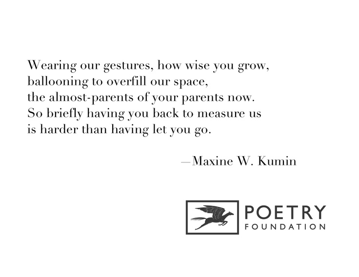 maxine kumin poetry analysis 2005-03-17  on june 6, 1925, maxine kumin was born in  jack is reprinted from jack and other poems by maxine kumin  the author of numerous collections of poetry, maxine kumin received the pulitzer prize for her book.