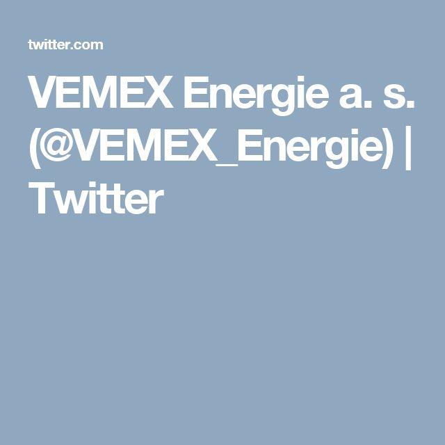 VEMEX Energie a. s. (@VEMEX_Energie) | Twitter