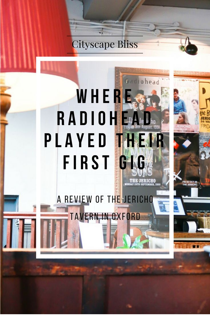 Where to have beautiful pub food in Oxford and listen to some of the most popular bands of the current music scene in the UK? It's the Jericho Tavern in Oxford! Cityscape Bliss // Review of Jericho Tavern in Oxford