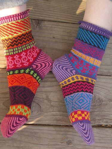 Ravelry: KnittingSuzanne's Sarah's Bazaar Socks