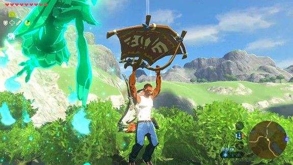 Someone added Carl Johnson from GTA to Zelda and this is what art looks like