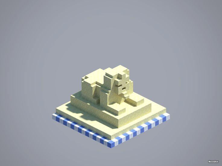 MCNoodlor: Desert - Sphinx