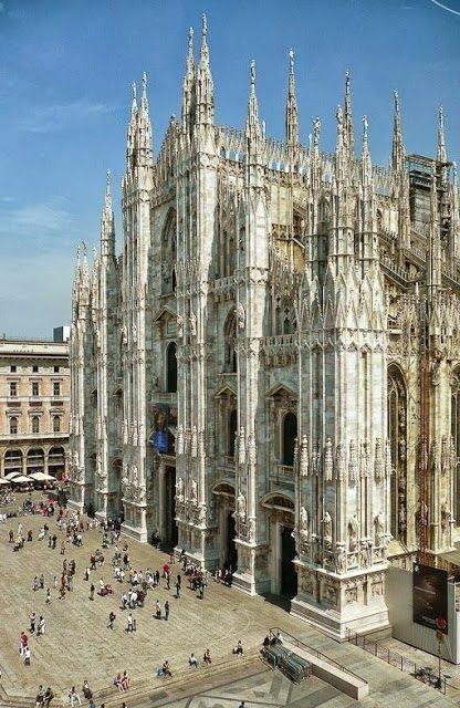 ♔ Duomo - Milano. Awesome