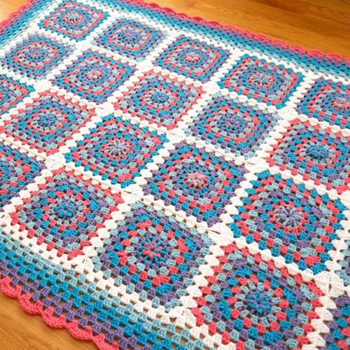 Tropical Getaway Blanket Crochet Tutorial