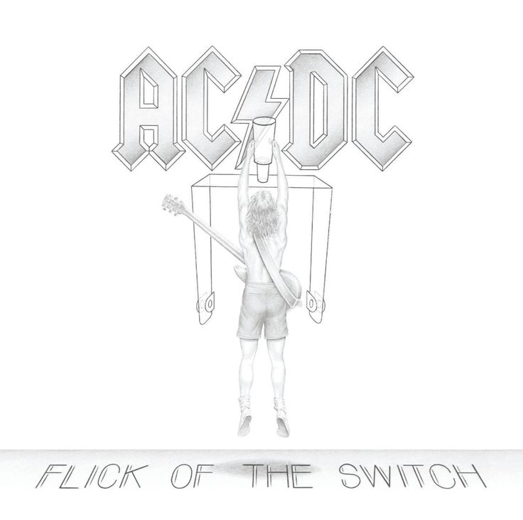 AC/DC Flick Of The Switch CD 2003