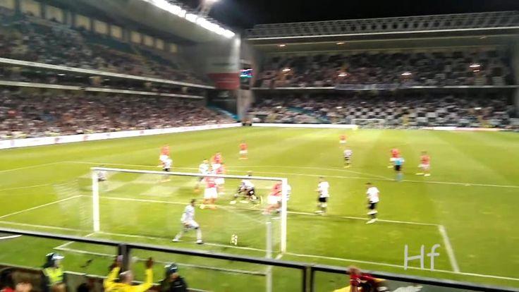 Benfica | golo do empate  Kalaica - Visto da Bancada