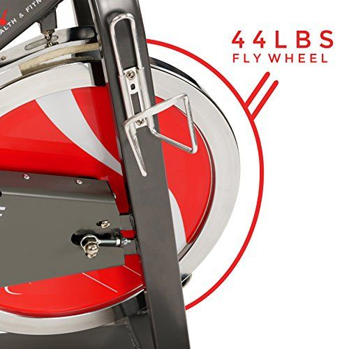 e464cd0615f nice Sunny Health & Fitness Belt Drive Indoor Cycling Bike – 44 lb Flywheel,  Adjustable and Portable Exercise Bicycle #CardioTraining  #ExerciseandFitness ...