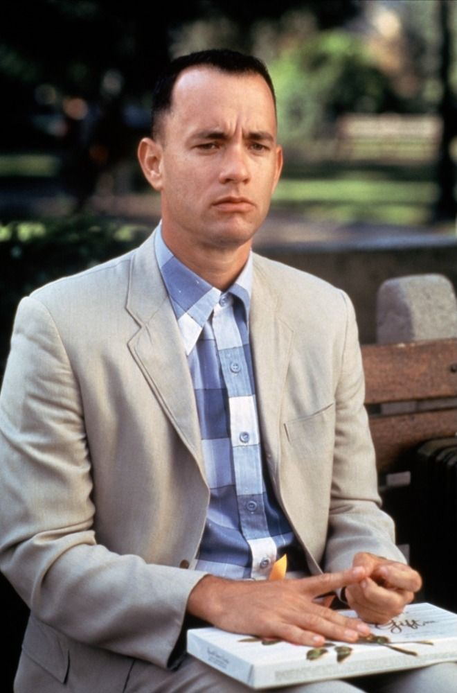 an analysis of the simpleton as wise man tom hanks as forrest Was forrest gump an idiot savant in the movie version that starred tom hanks, forrest was depicted as extremely simple yet profoundly wise.