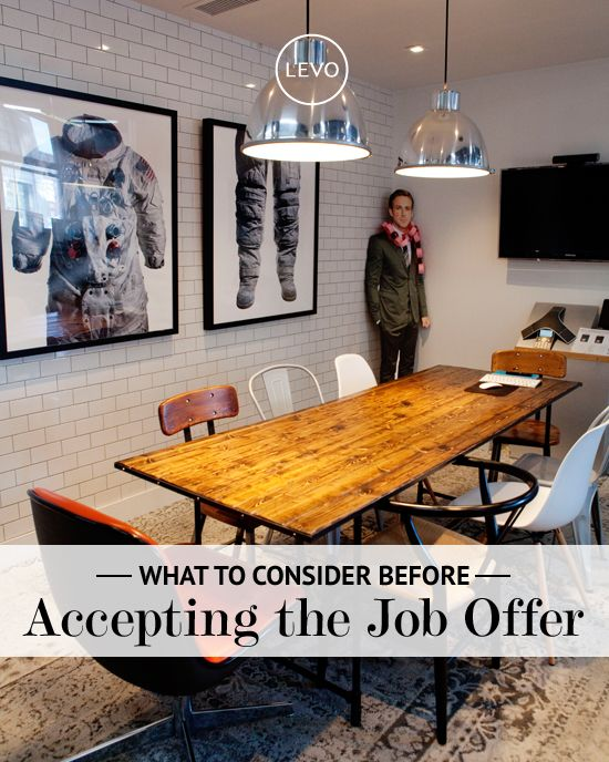 5 Things to Know Before Accepting a Job Offer | Levo | Job Offer