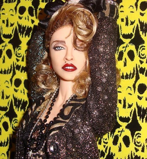 OOAK Madonna Barbie Doll Desperately Seeking Susan Repaint Reroot Retro 1 6 | eBay