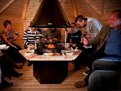 Fun in our Scandinavian BBQ house