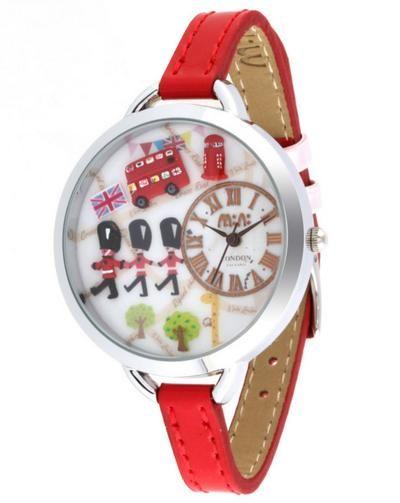 REF.25 Reloj con mini-figuras en 3d porcelana fría.  100% originales, garantía 1 año