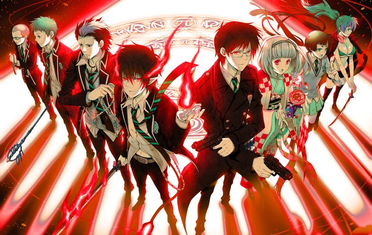 Seeing Red Over Blue Exorcist | Anime Focus