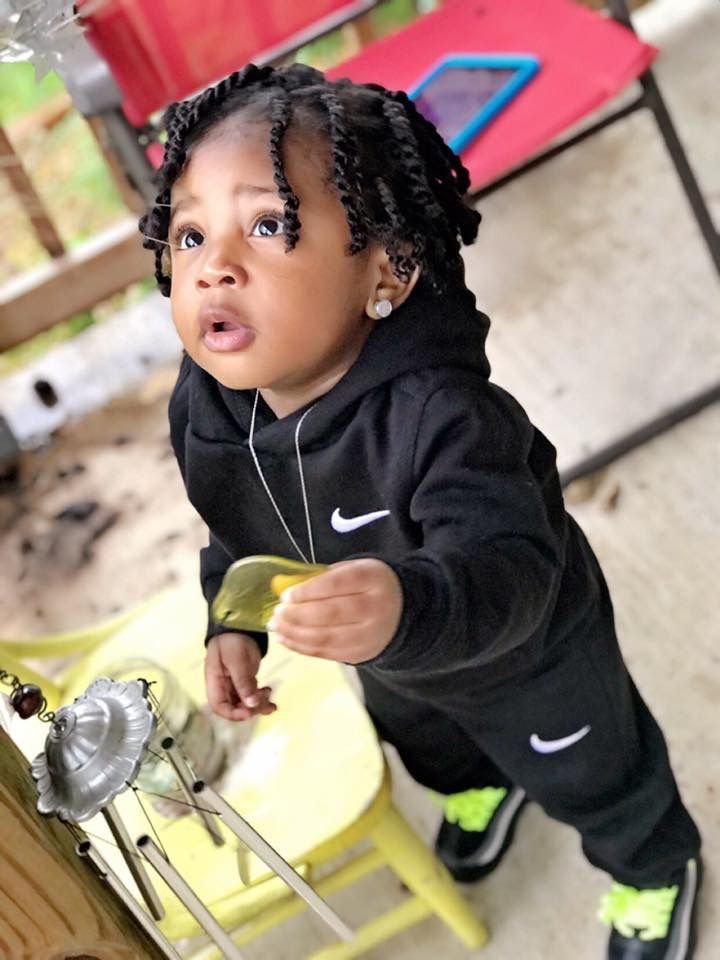 Pin By Prvnce E On Munchkins Black Baby Boys Braids For Boys Cute Black Babies