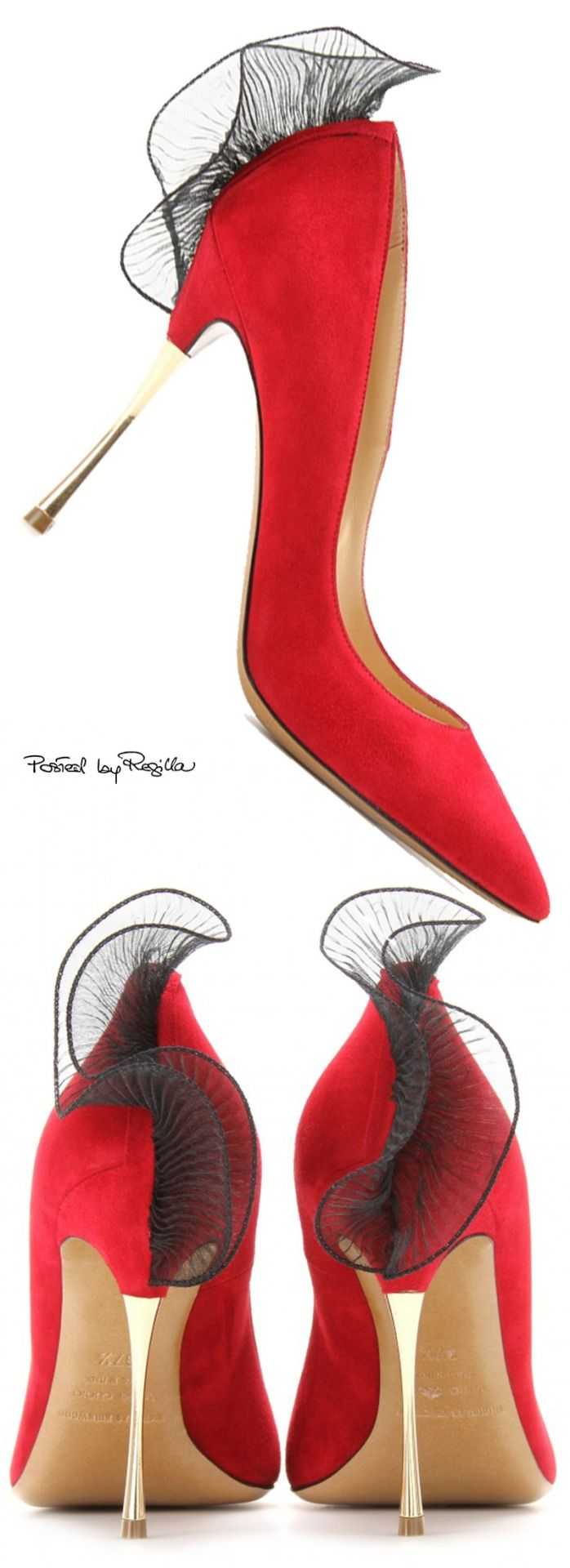 Regilla ⚜ Nicholas Kirkwood....THESE ARE REALLY ELEGANT WITH A TOUCH OF SASSY