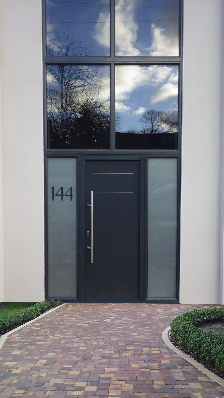Hormann Tps015 Anthracite Grey With Side Elements