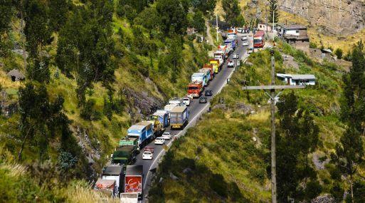 MTC prohíbe circulación de camiones de carga por la Carretera Central en Semana Santa #Gestion